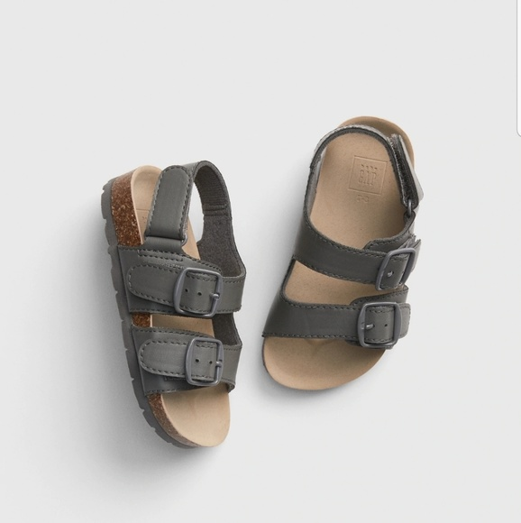 Gap Toddler Boy Faux Leather Birkenstock Sandals
